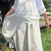 """Одежда ручной работы. Ярмарка Мастеров - ручная работа Льняная юбка """"Прованс"""". Handmade."""
