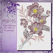 Материалы для творчества handmade. Livemaster - original item Design for machine embroidery. Pink dream. Handmade.