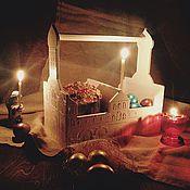 """Подарки к праздникам ручной работы. Ярмарка Мастеров - ручная работа Пасхальная """"корзина"""" в виде храма. Handmade."""