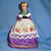 Винтаж handmade. Livemaster - original item Collectible doll France celluloid 1950e Sleeping eyes. Handmade.