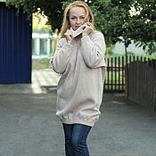 """Одежда ручной работы. Ярмарка Мастеров - ручная работа Теплое платье - свитер """"Встречая осень"""". Handmade."""