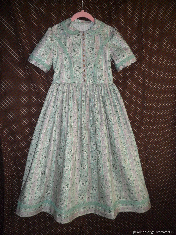"""Платье ретро  для девочки  """"Маленькая мисс"""""""