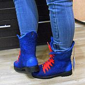 Обувь ручной работы handmade. Livemaster - original item Shoes felted.. Handmade.