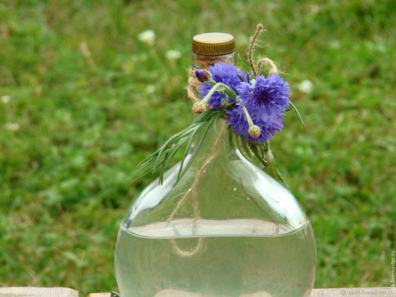 Гидролат цветов василька синего, Гидролаты, Новосибирск, Фото №1