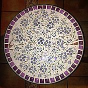 "Для дома и интерьера handmade. Livemaster - original item Coffee table ""Purple sakura"". Handmade."