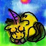 Жёлтый Единорог (yellow-unicorn) - Ярмарка Мастеров - ручная работа, handmade