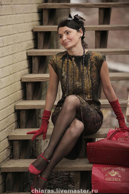 """Платья ручной работы. Ярмарка Мастеров - ручная работа. Купить авторское платье """"True Lady"""". Handmade. Авторское платье, шерсть"""