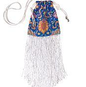 Сумки и аксессуары handmade. Livemaster - original item Bag with fringe of glass beads FREEDOM LOVER. Handmade.