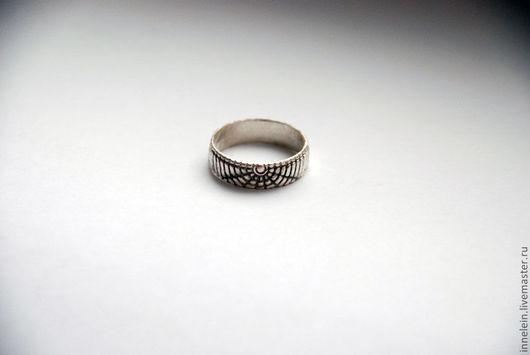 """Кольца ручной работы. Ярмарка Мастеров - ручная работа. Купить Кольцо """"Паутина"""". Handmade. Паутина, паук, серебряное кольцо, готика"""