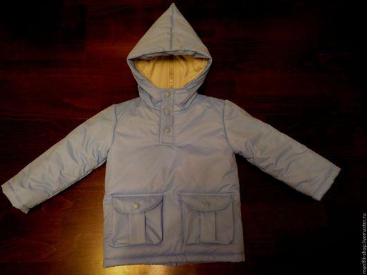 Одежда для мальчиков, ручной работы. Ярмарка Мастеров - ручная работа. Купить Куртка демисезонная. Handmade. Голубой, куртка для мальчика