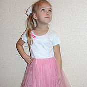 """Работы для детей, ручной работы. Ярмарка Мастеров - ручная работа Платье для девочки нарядное """"Barbie PARTY"""". Handmade."""