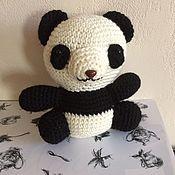Мягкие игрушки ручной работы. Ярмарка Мастеров - ручная работа Мишка панда. Handmade.