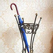 Для дома и интерьера handmade. Livemaster - original item Wrought iron umbrella stand. Handmade.