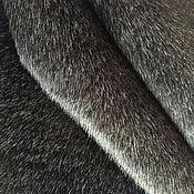 Материалы для творчества ручной работы. Ярмарка Мастеров - ручная работа Мех 8мм. седой 206. Handmade.
