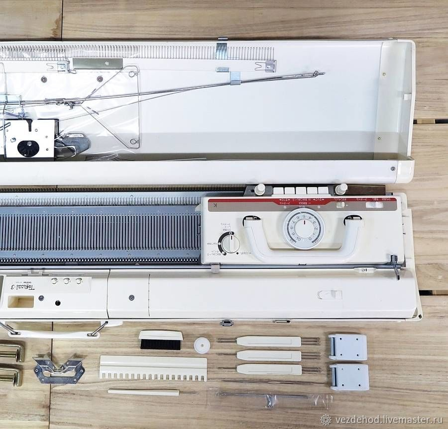 Вязальная машина Бразер КН 930 + робот каретка – купить в интернет-магазине на Ярмарке Мастеров с доставкой