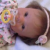 Куклы и игрушки ручной работы. Ярмарка Мастеров - ручная работа Кукла реборн Аделька(Молд Кристи от Линды Мюрей). Handmade.