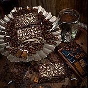 Косметика ручной работы handmade. Livemaster - original item Natural coffee soap-scrub