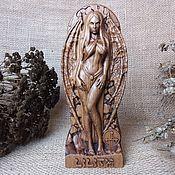 Для дома и интерьера handmade. Livemaster - original item Lilith, a statuette made of wood. Handmade.