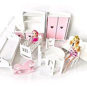 Куклы и игрушки handmade. Livemaster - original item Furniture for Dollhouse. Doll furniture. furniture for Barbie. Handmade.