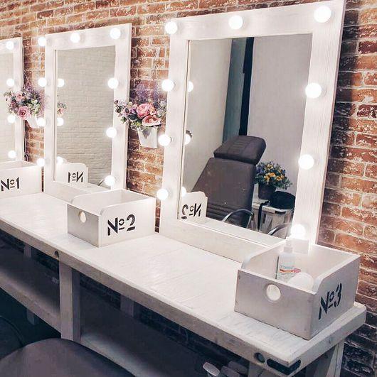 """Зеркала ручной работы. Ярмарка Мастеров - ручная работа. Купить Зеркало """"Make up"""". Handmade. Зеркало, зеркало в деревянной раме"""