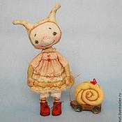 Куклы и игрушки ручной работы. Ярмарка Мастеров - ручная работа Улитка. Handmade.