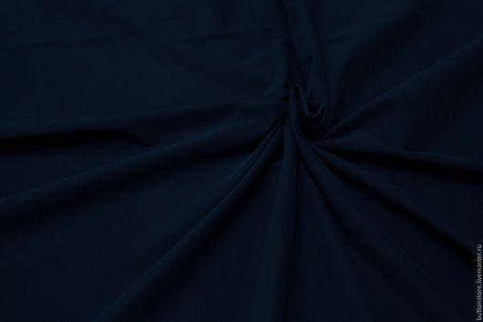Шитье ручной работы. Ярмарка Мастеров - ручная работа. Купить Хлопок Джинса Синий бархат. Handmade. Тёмно-синий
