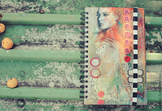 Фотоальбомы ручной работы. Ярмарка Мастеров - ручная работа. Купить Альбом+Блокнот. Handmade. Блокнот ручной работы, скрап материалы