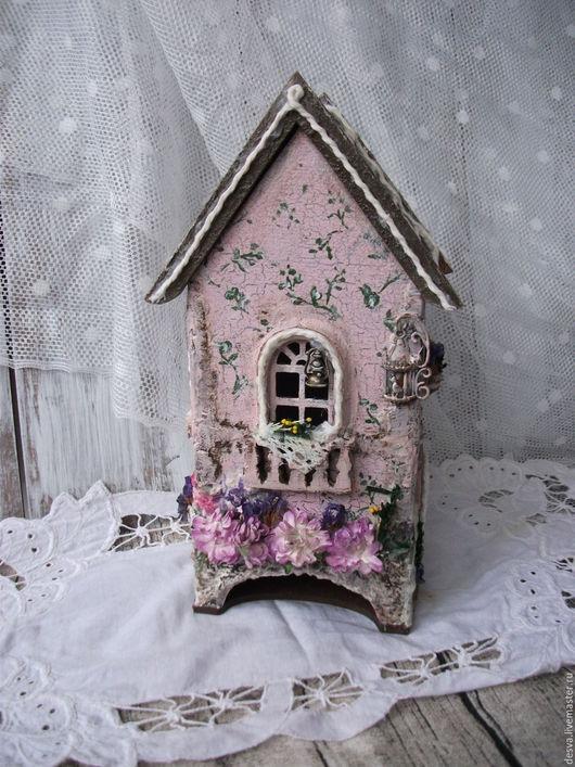 """Кухня ручной работы. Ярмарка Мастеров - ручная работа. Купить Чайный домик """"Нежные фантазии"""". Handmade. Розовый, прованс, дерево"""
