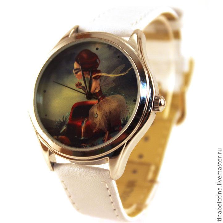 Часы ручной работы. Ярмарка Мастеров - ручная работа. Купить Дизайнерские наручные часы Леди. Handmade. Подарок девушке