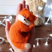 Куклы и игрушки handmade. Livemaster - original item Sleeping Fox. Handmade.