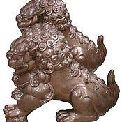 Для дома и интерьера handmade. Livemaster - original item dog Buddha(lions). Handmade.