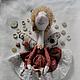 Коллекционные куклы ручной работы. Кукла Швеюшка Феюшка. Дизайн-студия Мещеряковой Марии. Ярмарка Мастеров. Интересный подарок, швея