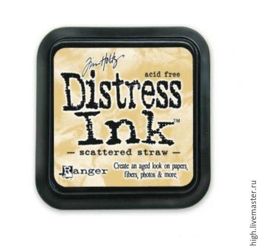 Подушечка чернильная Distress Ink Antique linen Арт. RI-TIM19497