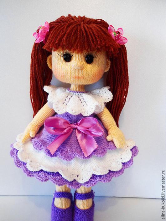 Вязаные куклы своими руками цена