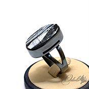 Украшения handmade. Livemaster - original item Silver ring with Cheryl, They are watching us black. Handmade.