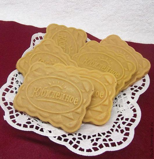 """Мыло ручной работы. Ярмарка Мастеров - ручная работа. Купить Мыло ручной работы """"Печенье"""". Handmade. Бежевый, мыло печенье"""