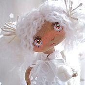 Куклы и игрушки ручной работы. Ярмарка Мастеров - ручная работа Снежная Нежность. Handmade.