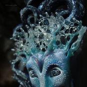 """Украшения ручной работы. Ярмарка Мастеров - ручная работа """"Луми - Сердце Льдов"""", парадная брошь в стиле фэнтези. Handmade."""