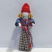 Куклы и игрушки ручной работы. Ярмарка Мастеров - ручная работа Народная кукла Спиридон-Солнцеворот. Handmade.