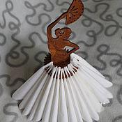 Для дома и интерьера ручной работы. Ярмарка Мастеров - ручная работа Подставка для салфеток Фламенко. Handmade.