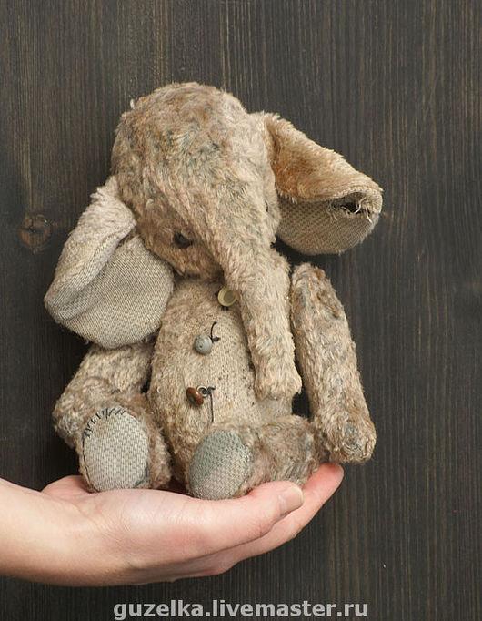 """Мишки Тедди ручной работы. Ярмарка Мастеров - ручная работа. Купить Слоник """"Тошко"""". Handmade. Слоник, слоненок, слон игрушка"""