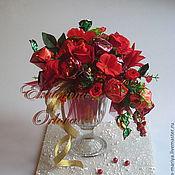 Цветы и флористика ручной работы. Ярмарка Мастеров - ручная работа Очарование (букет из конфет). Handmade.