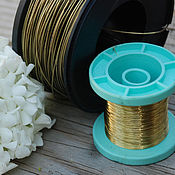 Материалы для творчества handmade. Livemaster - original item Brass wire. Handmade.