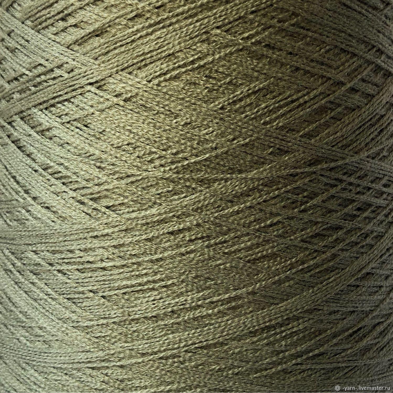 Пряжа Кашемир шелк светло-зеленый, Пряжа, Санкт-Петербург,  Фото №1