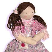 Куклы и игрушки ручной работы. Ярмарка Мастеров - ручная работа Анежка, вальдорфская,43 см. Handmade.