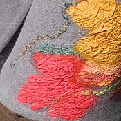 """Одежда ручной работы. Ярмарка Мастеров - ручная работа Валяный жакет """"Листопад"""". Handmade."""
