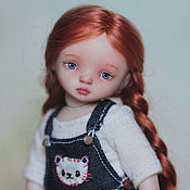 Куклы и игрушки ручной работы. Ярмарка Мастеров - ручная работа Яночка, фарфоровая шарнирная кукла. Handmade.