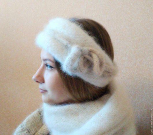 Шарфы и шарфики ручной работы. Ярмарка Мастеров - ручная работа. Купить повязка для шеи и головы. Handmade. Шарф
