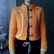 Одежда ручной работы. Ярмарка Мастеров - ручная работа Жакет-куртка. Handmade.