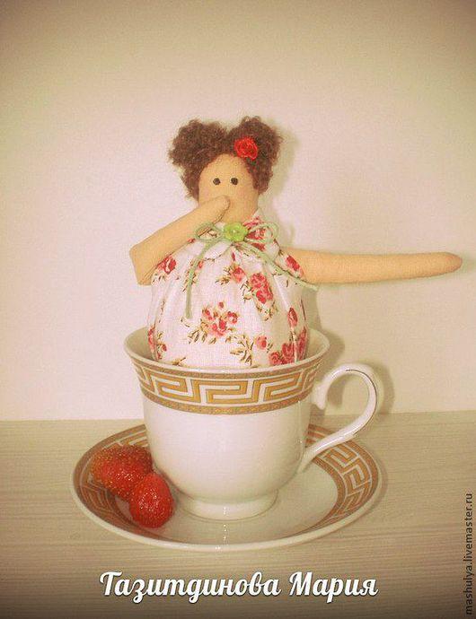 Куклы Тильды ручной работы. Ярмарка Мастеров - ручная работа. Купить Тильда в чашке (чайная фея). Handmade. Тильда